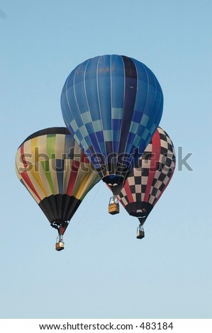 balloon two - stock photo