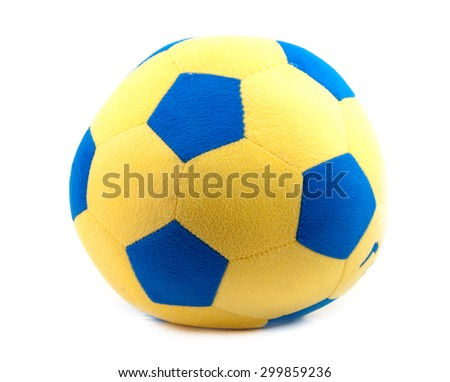 balls soft soccer for playing indoor - stock photo