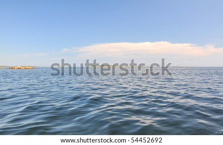 Baltic sea in Sweden - stock photo
