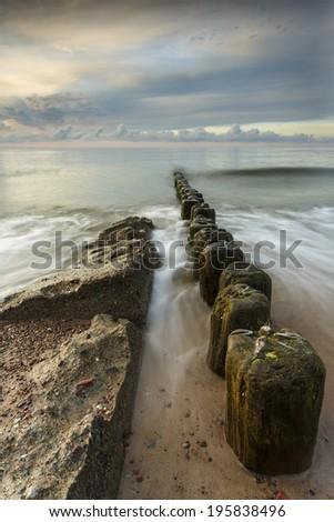Baltic Sea, Poland./ Baltic Sea - stock photo