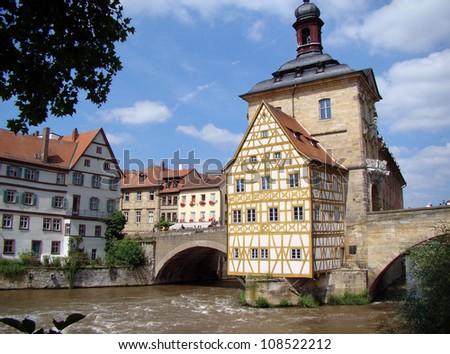 Bamberg The nice city of Bamberg in Germany - stock photo