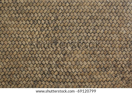 bamboo Basketry - stock photo