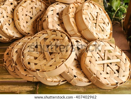 Bamboo basketwork