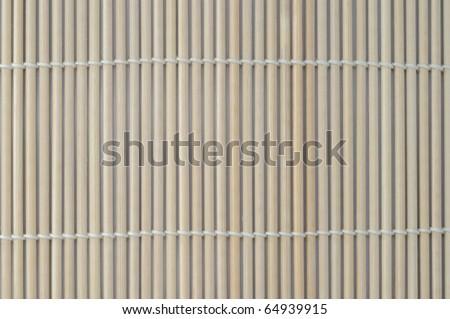 bamboo blind pattern background - stock photo