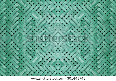 Bamboo furniture, pattern products for the background. - stock photo