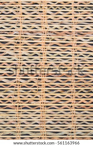 Bamboo handcraft background