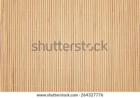 Bamboo mat background - stock photo