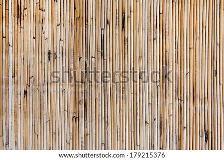 Bamboo mat texture - stock photo