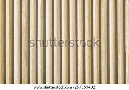 Bamboo mat texture or background, bamboo brown. - stock photo