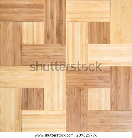 Bamboo parquet texture - stock photo