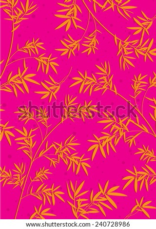 Bamboo pattern - stock photo