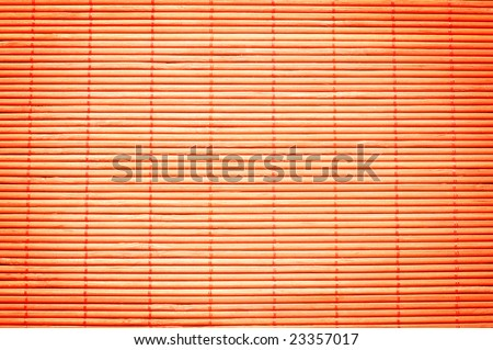 Bamboo place mat for sushi. Ideally as background. - stock photo