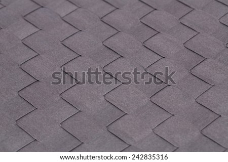 Bamboo place mat texture for background, close-up image. - stock photo