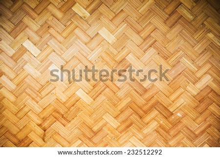Bamboo rattan texture  and background