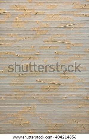 Bamboo straw, background, texture - stock photo