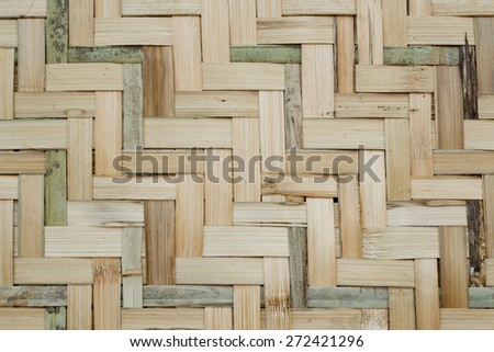bamboo texture with natural pattern  - stock photo
