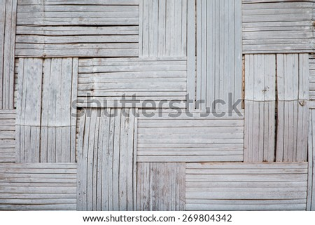 bamboo wall texture,natural pattern background - stock photo