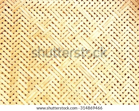 bamboo weaving texture background