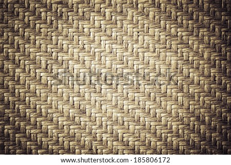 Bamboo woven texture and background - stock photo