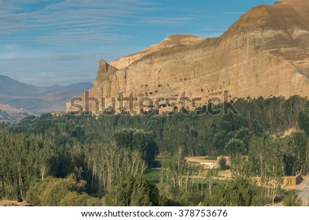 bamiyan valley, hindu kush region