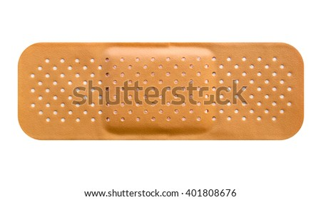 Band aid picture - stock photo