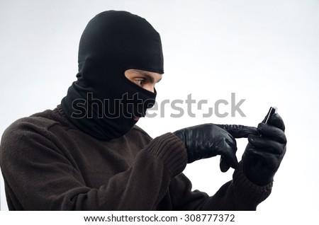 Bandit, Thief, Burglar - stock photo