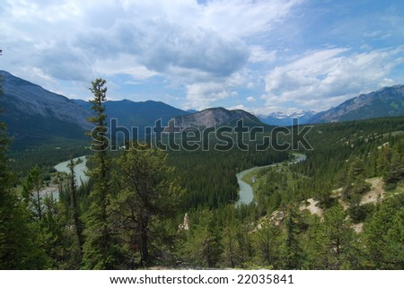 Banff National Park - stock photo