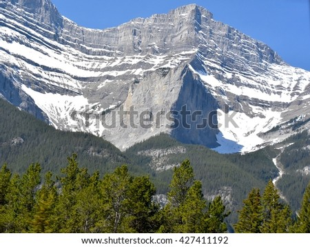 Banff National Park in Alberta, Canada