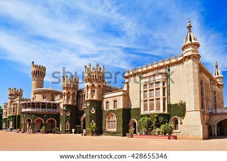 Bangalore Palace, Bangalore, Karnataka state, India - stock photo