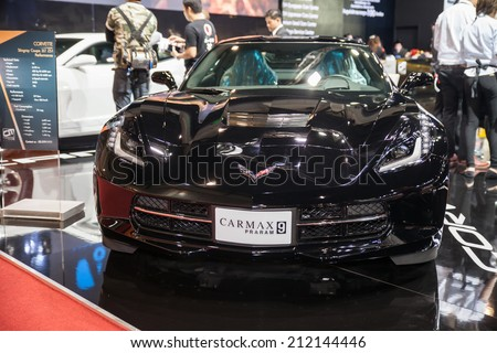 BANGKOK - AUGUST 16 :Corvette Shingroy Coupe Z51 at Big Motor Sale 2014 on  Aug 16,2014 in BITEC ,Bangkok, Thailand.