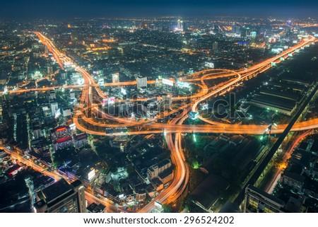 stock-photo-bangkok-cityscape-expressway