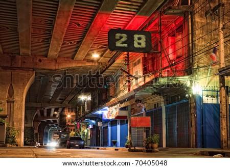 Bangkok downtown - stock photo