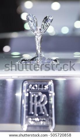 Bangkok March 22 Logo Rolls Royce Stock Photo 505720858 Shutterstock