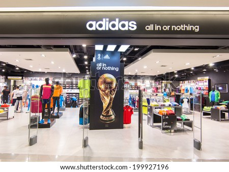 adidas store in orchard