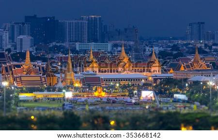 Grand Palace Twilight Bangkok Thailand Stock Photo 86604334 - Shutterstock