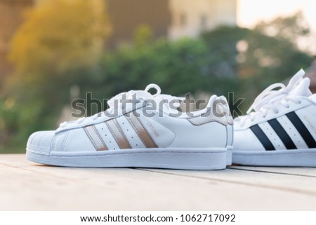 womens adidas superstar 2 black and white couples cliparts
