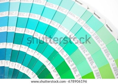 bangkok thailand july 15 2017 color swatches book or pantone color guide - Pantone Color Swatch Book