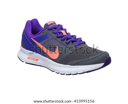 BANGKOK, THAILAND - May 2,2016: Photo of Nike Air sports shoes for