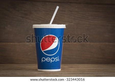 Pepsi Paper Cup