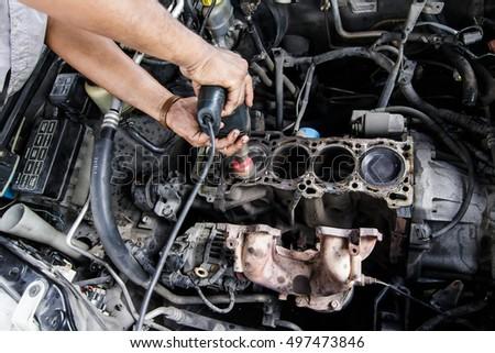 Overhaul Images RoyaltyFree Images Vectors – Machine Mechanic
