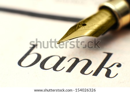Bank concept - stock photo
