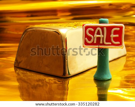 Bank metals at the most favorable prices - stock photo