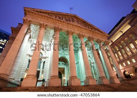 Bank Of England, London - stock photo