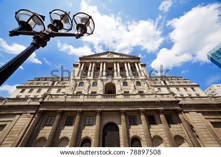 Bank of England, London, UK - stock photo