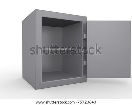 Bank Safe - stock photo