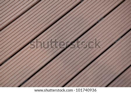 Bankirai wood - stock photo