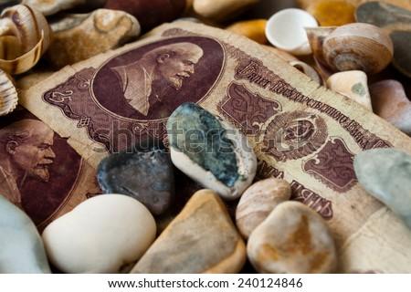 Banknote. - stock photo