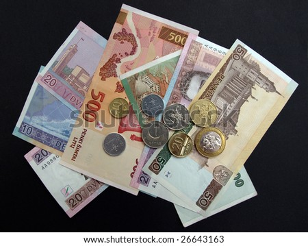 Banknotes and coins of Lithuanian currency