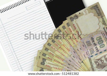 Banned Rs 500 and Rs 1000 notes, Indian currency.