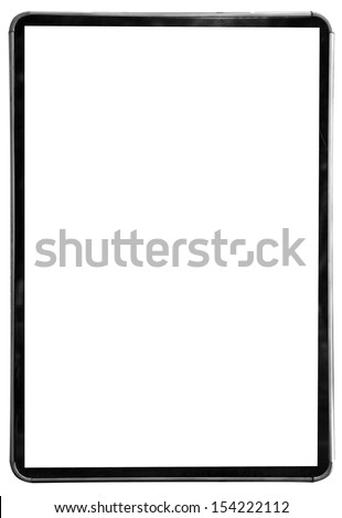 banner on a white background - stock photo